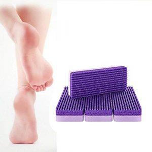 iback Foot Care Set, 2 en 1 Pierre ponce pour les pieds et les mains et le corps-Perfect pédicure outils pour l'exfoliation pour enlever la peau morte