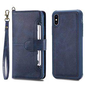 Iphone8Coque de téléphone, design Housse de Coque pour Iphone8[avec film de protection d'écran en verre trempé] color4