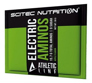 Scitec Nutrition Athleticline Electric Aminos acide aminé pomme 38 g