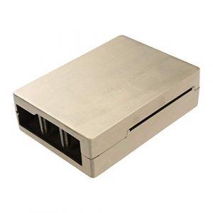 Yardwe Boîtier de Protection en Alliage d'aluminium pour boîtier de boîtier de Protection pour Raspberry Pi