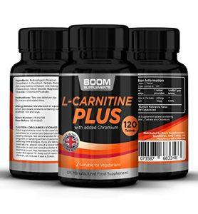 Acetyl L Carnitine Plus | Booster d'énergie puissant | Améliore les performances physiques | Sûr et efficace | 120 comprimés, cure de 4 mois | Satisfait ou remboursé
