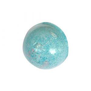 DDG EDMMS Bath Ball Naturelle Aromathérapie Sel de Bain Boule Manuelle Spa Boule Naturel Huile Essentielle Bio Bombe pour Le Bain à Bulles et Baignoire Spa Bleu Fournitures de ménage