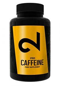 DUAL Pro CAFFEINE| 100% Caféine Pure 120 Capsules Végétaliennes|Certificat de Laboratoire |Hautes Doses|Sans Additifs Supplémentaires, Végétalien et Sans Gluten|Fourniture 4 Mois | Fabriqué dans l'UE