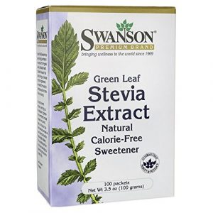 Green Leaf Stevia Extract 100 Pkts