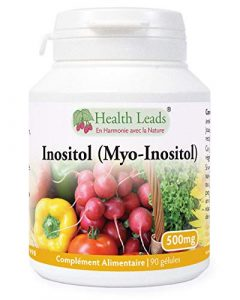 Inositol (Myo-Inositol) 500mg 90 gélules