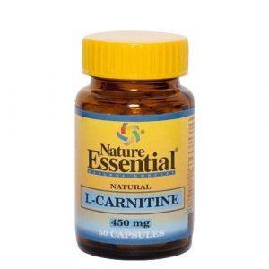 L-carnitine 450 mg. 50 capsules