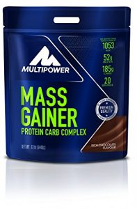 MULTIPOWER MP-12375 New Mass Gainer L-Carnitine Saveur Chocolat