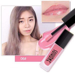 POIUDE Crayons à Lèvres 7Couleurs Mode Rouge à Lèvres Cosmétiques Femmes Lèvres Sexy Brillant à Lèvres(F)