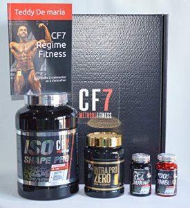 Box Fitness CF7 Intégrale – Coaching 3 mois Complet – Compléments Alimentaires+ Accessoires + Livre CF7
