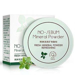 Buimin Poudre de finition de base de maquillage de poudre lâche translucide cosmétique-Get Gorgeous – Poudre Illuminatrice (A)