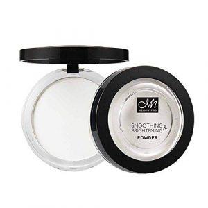 Buimin Poudre de maquillage -Poudre de maquillage faite à la peau pour mentionner la poudre lâche de couleur brillante (A)