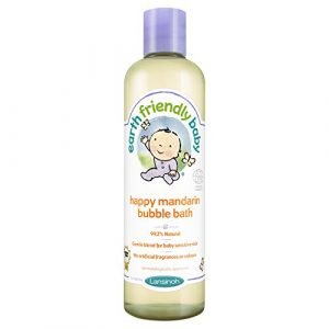 Earth Friendly Baby Bain moussant à la mandarine pour bébé 300 ml