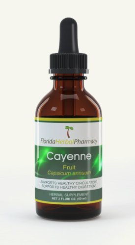 Florida Herbal Pharmacy, Cayenne Tincture/Extract 2 oz.