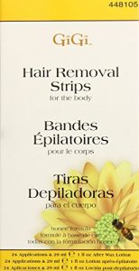Gigi Strips Body Hair Removal (3 Pack) by Gigi
