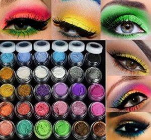 Hosaire Lot de 20crèmes cosmétiques pailletées pour le contour des yeux Effet mat Assortiment de 20couleurs