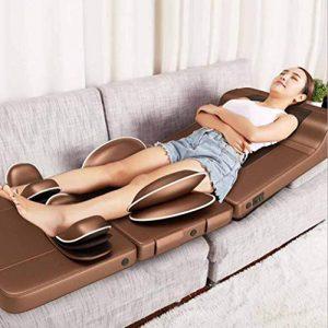 LYXPUZI Coussin de massage shiatsu Multifonction infrarouge matelas de massage électrique massage coussin santé du corps massage coussin massager pièces applicables hanche, taille, dos Soulager les do