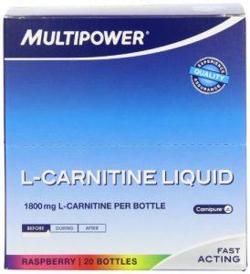 MULTIPOWER MP-12736 L-Carnitine Acides Aminés Saveur Framboise