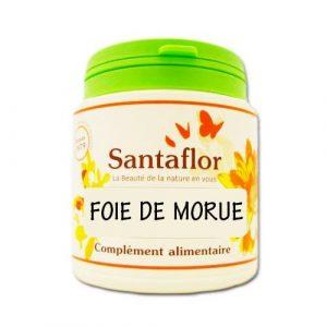 Santaflor – Foie de morue – Capsules1000 capsules