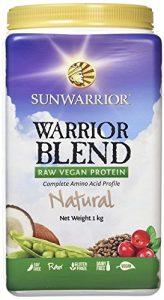 Sun Warrior, Protéine Brute à base de plantes, Warrior Blend, Naturel, 35.2 oz (1 kg)
