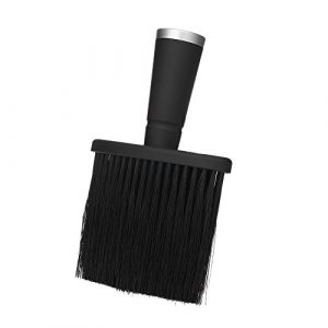 Anself Balais à cou Barber Neck Face Duster Brush Salon Household Hair Cleaning Brush Nylon Hair