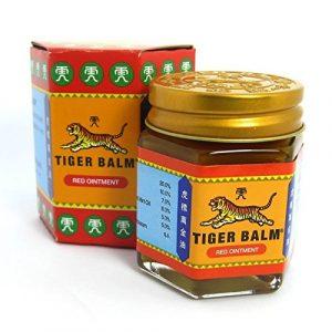 Baume du Tigre Tiger Balm Rouge Véritable Taille au Choix – 30g – Extra Fort 25%