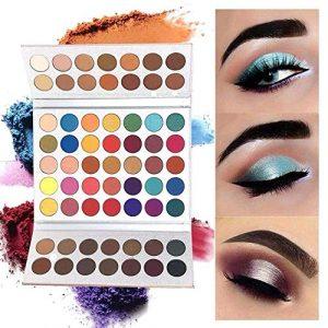 Beauty Glazed 63 couleurs ombre à paupières Shimmer Matte Glitter fards à paupières Eye maquillage ensemble poudre Ombre à paupières Maquillage Palette cosmétique scintillement ombre palettes