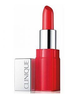 Clinique Pop Glaze Sheer/Base de Teint Rouge à Lèvres 03 Fireball Pop 4 g