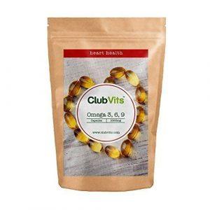 CLUB Vits Omega 3 6 9 1000mg – 90 capsules