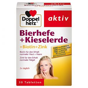 Doppelherz Bierhefe + Kieselerde + Biotin + Zink. 30 St [Badartikel]