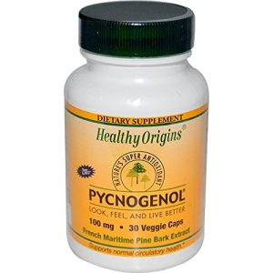Healthy Origins, Pycnogenol, 100 mg, 30 Capsules