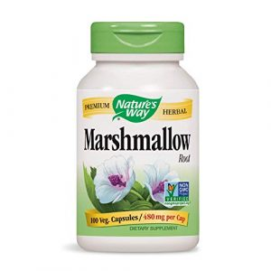 Nature's Way, racine de marshmallow, 100 Capsules