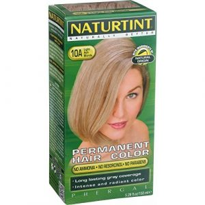 Permanent Hair Color – 10A, Light Ash Blonde, 5.45 oz ( Multi-Pack) by Naturtint