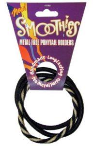 smoothies régulier en métal gratuit Queue de cheval Supports–Noir Combo