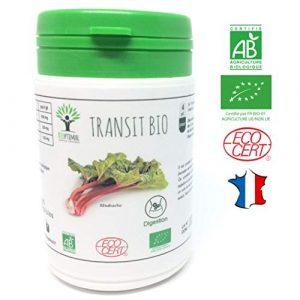 Transit bio | 60 gélules | Complément alimentaire | Digestion | Bioptimal – nutrition naturelle | Fabriqué en France