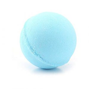 60g Multicolor Bath Ball Natural Bubble Fizzer Bath Bomb Home Hotel Bathroom Body SPA Birthday Gift For Her Wife Girlfriend – Blue