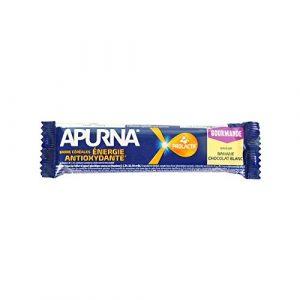 APURNA Barre Energie 40 Gr Unique – Banane/chocolat Blanc