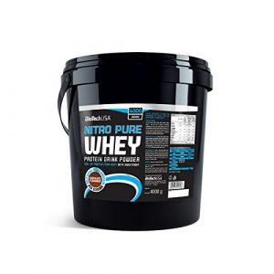 Biotech USA 10004060211 Nitro Pure Whey Protéine Saveur Chocolat