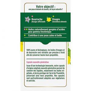 Floressance Capsule Végétale Onagre Bourrache Eclat de la Peau