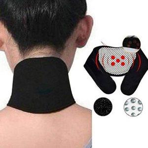 HATCHMATIC Appui à la protection auto vertèbre cervicale ontaneous chauffage Protège-cou Bracelet: Noir