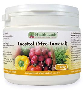 Inositol (Myo-Inositol) Poudre 300g | Aussi appelé Vitamine B8 | Haute Absorption | VEGAN | Sans stéarate de magnésium u additifs nocifs | NON-OGM | Avec pelle gratuite | Produit au Pays de Galles