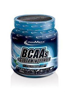 IronMaxx BCAAs + Glutamine Powder, 550 g Dose