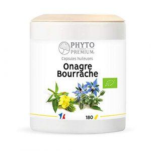 PHYTOPREMIUM Bio Cap huil Onagre 250 mg Bourrache 250 mg