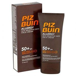 Piz Crème Pour Le Visage D'Allergie Buin Spf50 + 50Ml (Lot de 6)