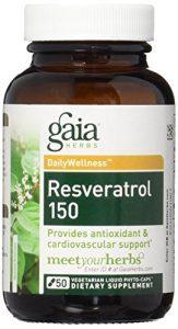 Resveratrol 150, 50 végétarien liquide Phyto-Caps – Gaia Herbs