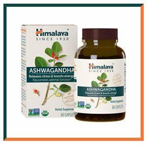 Himalaya Ashwagandha (ginseng indien) certifiées par l'USDA | Suppléments naturels qui combattent le stress et aident à stimuler l'énergie, 60 capsules de 4,630mg (Ashwagandha – Premium)