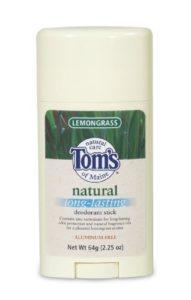 – Lemongrass Long Lasting Stick, 2.25 oz sticks ( Value Bulk Multi-pack) by Tom's of Maine