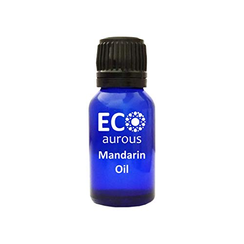 Mandarin Oil (Citrus reticulata) 100% Natural, Organic, Vegan & Cruelty Free Mandarin Essential Oil | Pure Mandarin Oil By Eco Aurous (20.L)