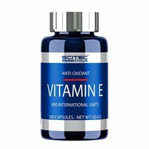 Scitec Nutrition Vitamin E antioxydant 100 capsules