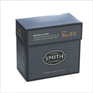 Smith Teamaker Masala Chai Blend No. 33 full leaf blended black tea,15 Count by Smith Teamaker