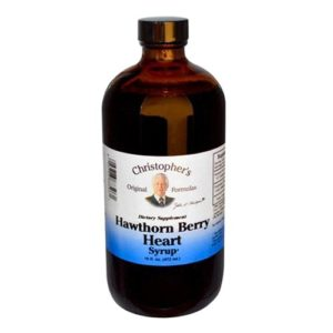 Dr. Christopher's Hawthorn Berry Heart Syrup (16 Fl Oz)